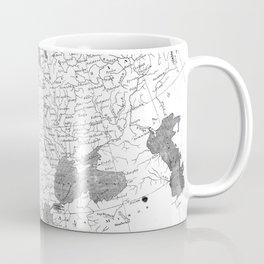 Vintage Map of Europe (1804) BW Coffee Mug