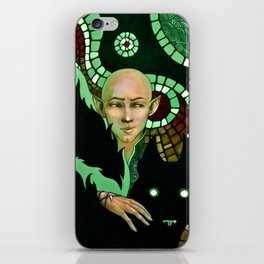 Solas, wolf and patterns iPhone Skin