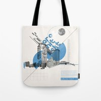 architect Tote Bags featuring Architect by Kacper Kieć
