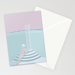 Emptied, Drained  Stationery Cards