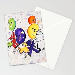 Jitterbuggin' Jellybeans Stationery Cards