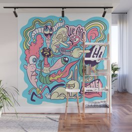 Doodle #2389 Wall Mural