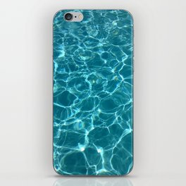 Blue water iPhone Skin