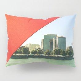 The Red Umbrella Pillow Sham