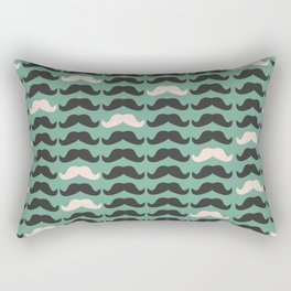 Mustache Life 2 Rectangular Pillow