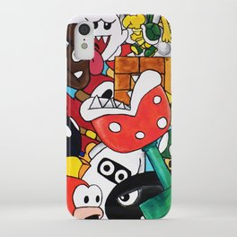 Super Mario Bros iPhone Case