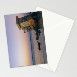 Isla Holbox Fisherman Ruins at Sunset Stationery Cards