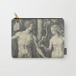 Albrecht Durer ADAM and EVE Carry-All Pouch