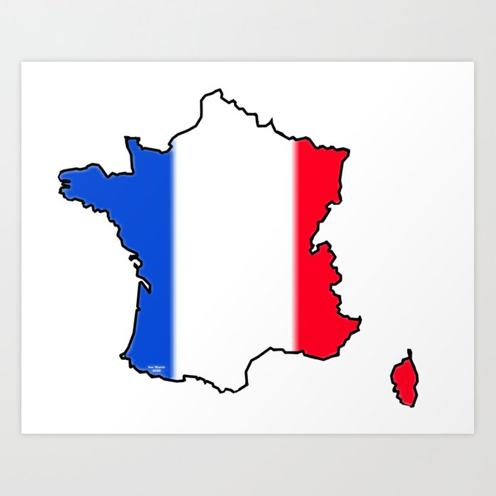 It's just a photo of Canny Printable French Flag
