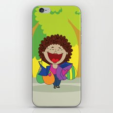 Inspired on my mom, when she just can't stop laughing!   iPhone & iPod Skin