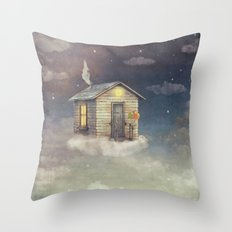 Flying Home Throw Pillow