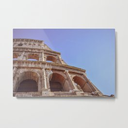 Close-up of Colosseum in Rome, Italy Metal Print