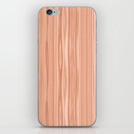 Cherry Wood Texture iPhone Skin