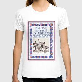 1924 British Empire Exhibition Wembley London T-shirt