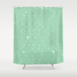 Made for you my heart 7 Shower Curtain