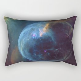 Bubble Nebula Astronomy Rectangular Pillow