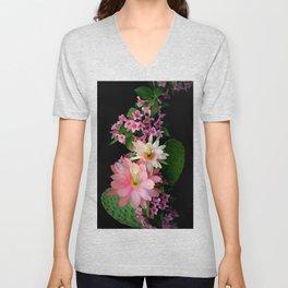 Cacti, Pink And Paler Unisex V-Neck