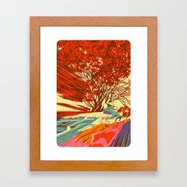 A bird never seen before - Fortuna series Framed Art Print