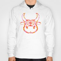 bull Hoodies featuring Bull by Gusvili