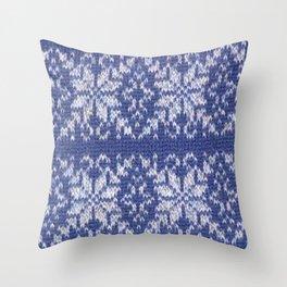 Fair Isle Throw Pillow