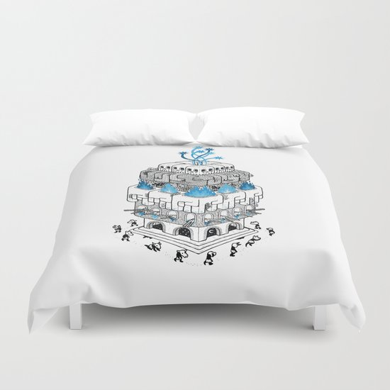 The Temple Duvet Cover