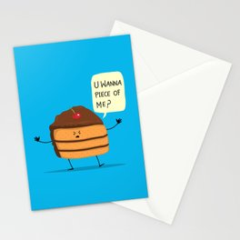 Trouble Baker Stationery Cards