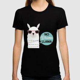 Alpaca Actress Actor Theater Wildlife Animals Gift No Drama Llama T-shirt