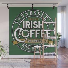 Tennessee's Irish Coffee Label (The Love Bug) Wall Mural