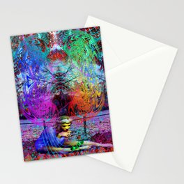 An Early Visit From The Frost Fairy (autumn) Stationery Cards