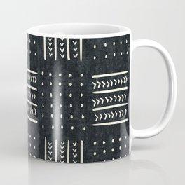 Mud cloth in black and white Coffee Mug