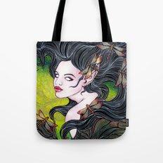 Queen of dragonflies Tote Bag