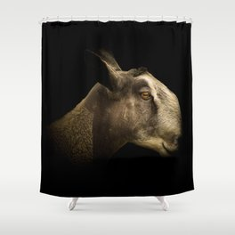 Blue Faced Leicester Shower Curtain