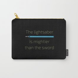 The Lightsaber is Mightier Carry-All Pouch