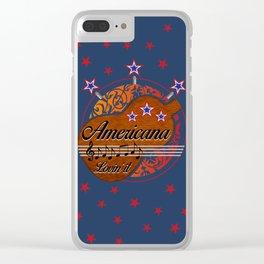 Americana - Lovin' it Clear iPhone Case