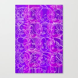 For Your Ears Canvas Print