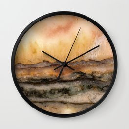 Idaho Gem Stone 8 Wall Clock
