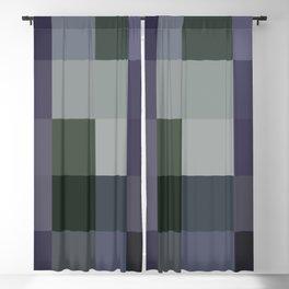 Colorscape: Blueberry Blackout Curtain