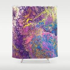 Nebula One Shower Curtain