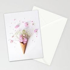 Stock Flower Cone Stationery Cards