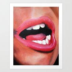 Oral Fixation 1.5 Art Print