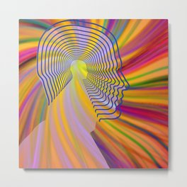 The colors of imagination Metal Print