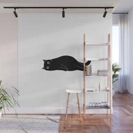 Black cat. Art Print Wall Mural