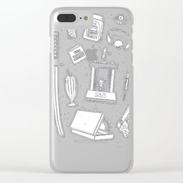 CULT CLASSIC ICONS T-SHIRT Clear iPhone Case