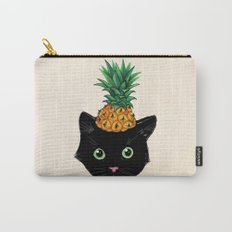 Pineapple Kitty Carry-All Pouch