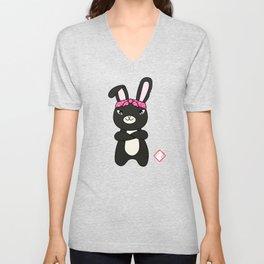 Hood Bunny Unisex V-Neck