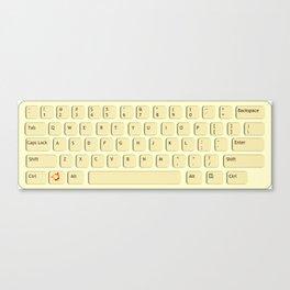 Press Keyboard Canvas Print