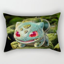 Realistic Bulbasour Rectangular Pillow