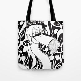 Monsieur Flamant Tote Bag