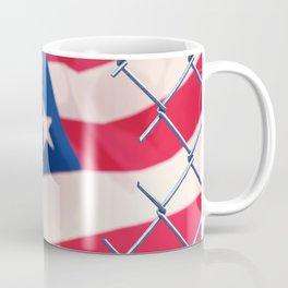 Illegal immigration concept Coffee Mug