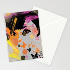 Audrey again Stationery Cards